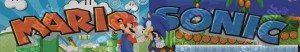Luz mario Vs Sonic