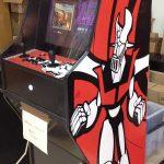 Máquina arcade de Mazinger Z edición roja