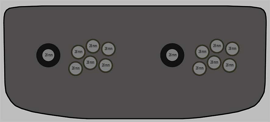Carcasa Arcade HDMI
