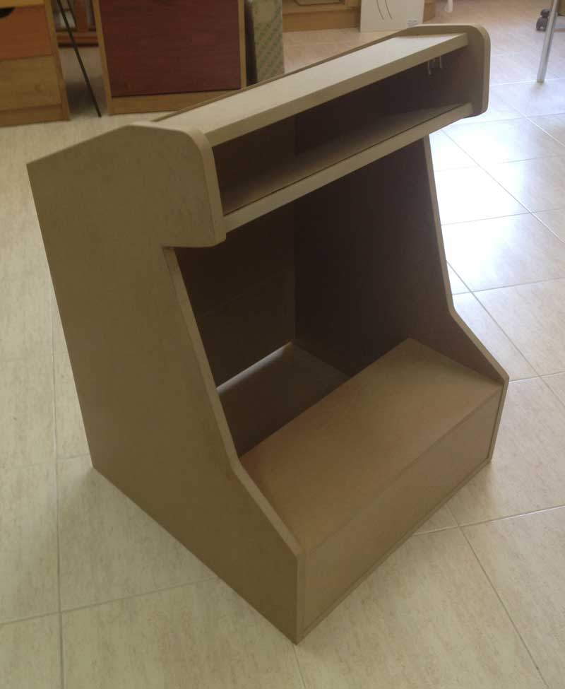 mueble bartop b sico montado y lowcost