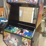 El aspecto de la máquina arcade va tomando forma
