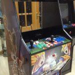 Cableando luces de la máquina arcade