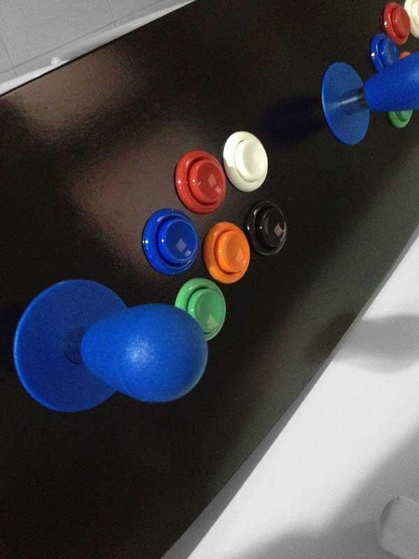 Mando arcade de 2 jugadores