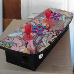 Mandos arcade vinilados, con y sin Raspberry. Molan ;-)
