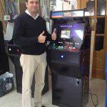 Máquina arcade homenaje Marvel