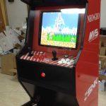 Máquina arcade estilo Neogeo
