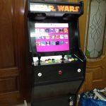 La máquina arcade tributo a Star Wars con Raspberry