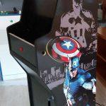 Máquina arcade Capitán América