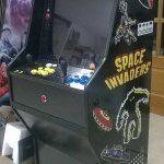 Máquina arcade -> motivos retro