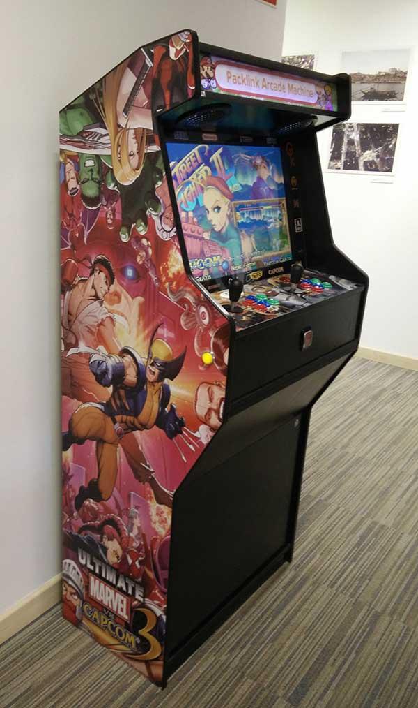 Máquina-arcade-packlink